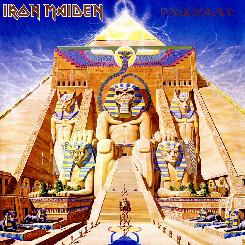Iron Maiden's Powerslave album