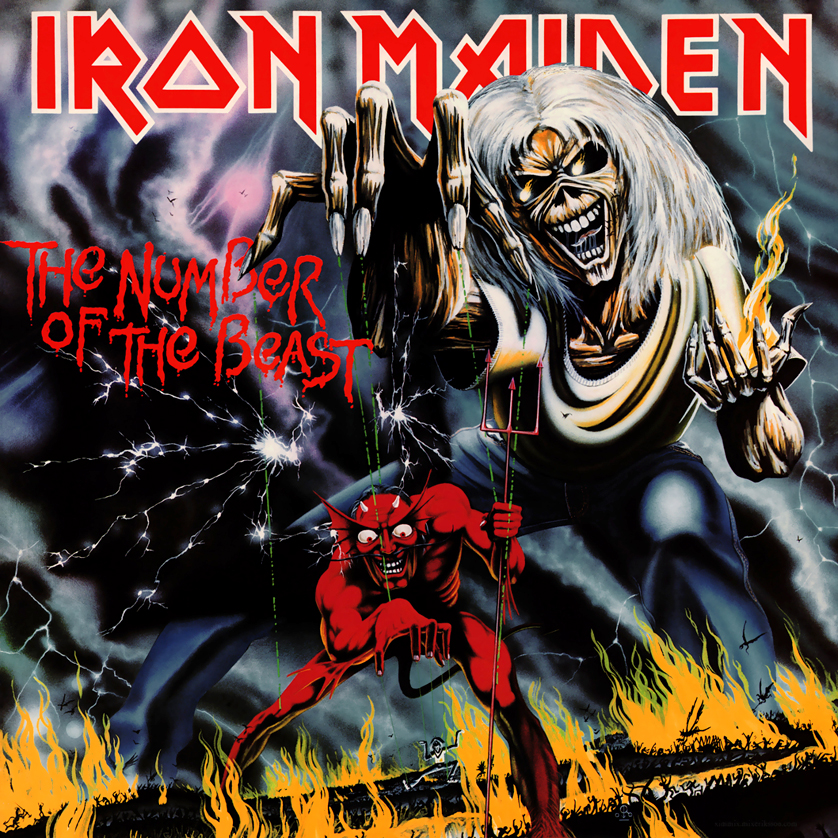 Iron Maiden's The Number of the Beast album