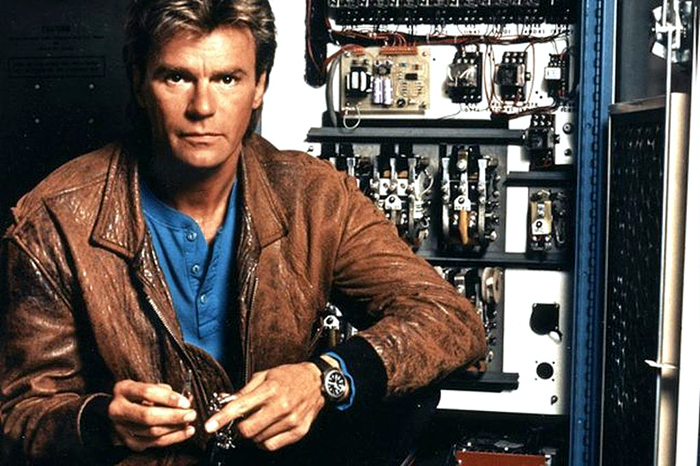 Macgyver 80s Tv 1985 1992 Like Totally 80s