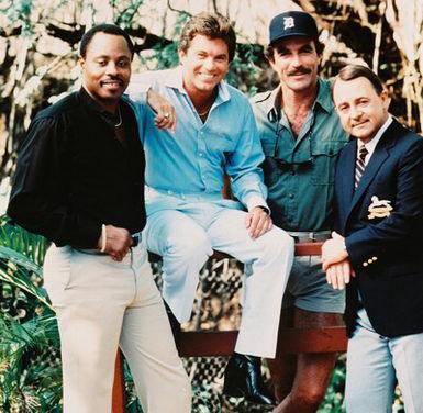 Magnum PI cast