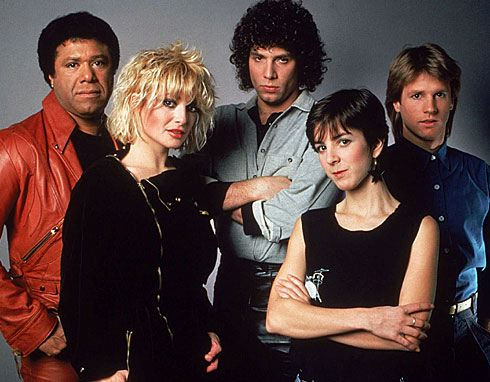 The Original MTV VJs: J.J. Jackson, Nina Blackwood, Mark Goodman, Martha Quinn, and Alan Hunter