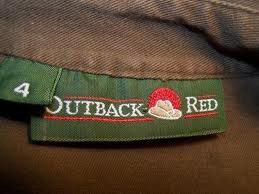Outback Red label