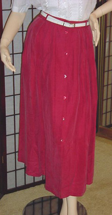 Outback Red long skirt