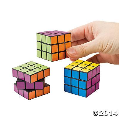Mini Rubik's Cubes
