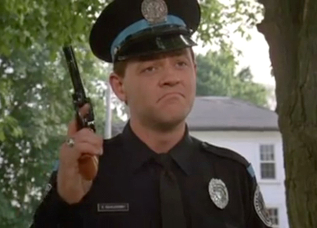 Eugene Tackleberry in Police Academy