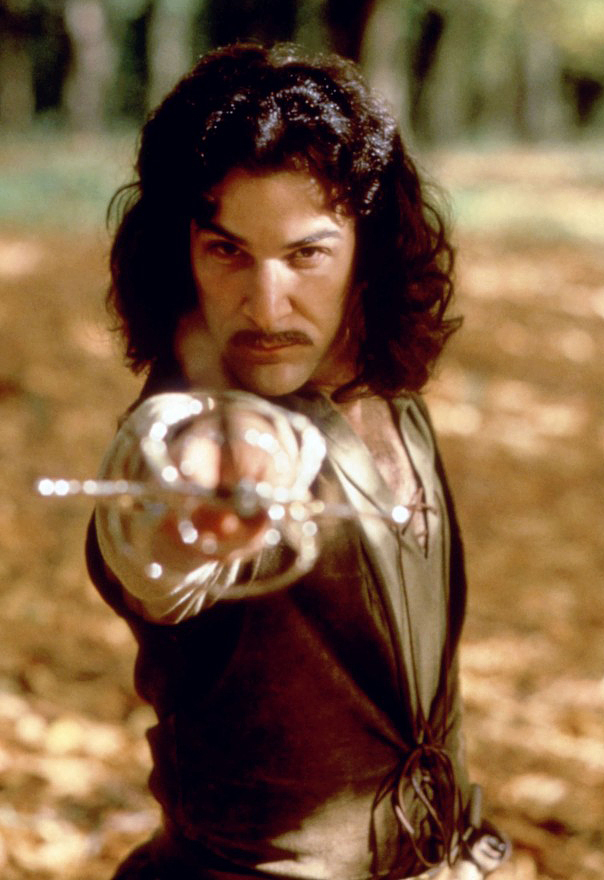 Inigo Montoya in The Princess Bride