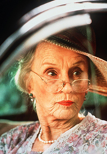 Jessica Tandy as Daisy Wertham in Driving Miss Daisy