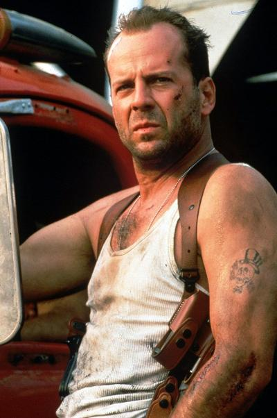 John McClain in Die Hard