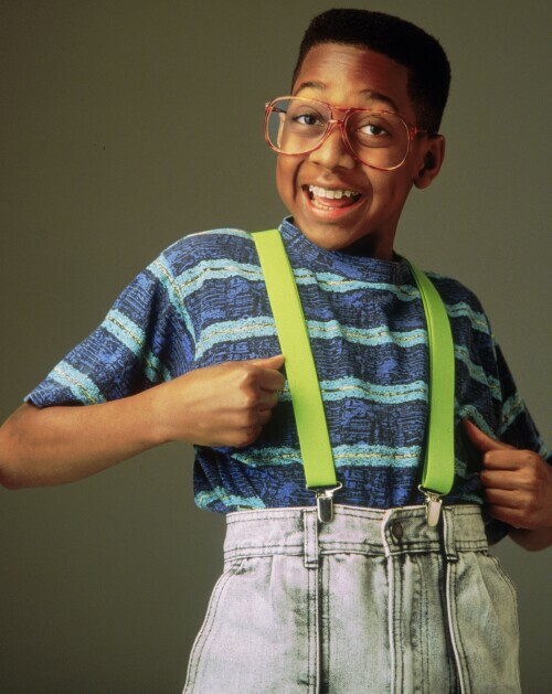 "Jaleel White as ""Steve Urkel"""