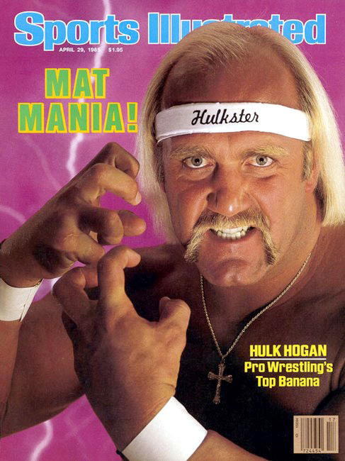 Hulk Hogan on the cover of Sports Illustrated