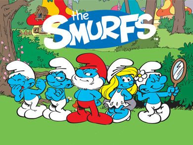 Smurfs cartoon