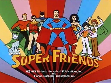 Super Friends cartoon