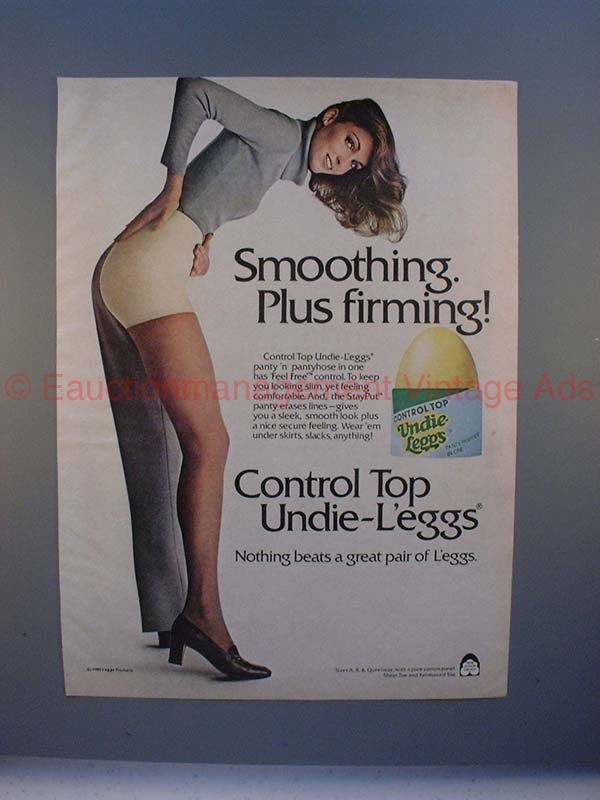 80s Leggs Pantyhose Ad – Smoothing. Plus Firming!
