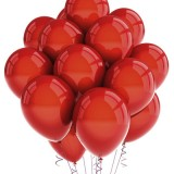 99 Luft Balloons Cover Using Only Red Balloons