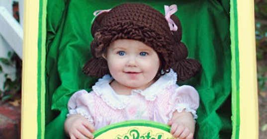 Cabbage Patch Baby Costume Idea