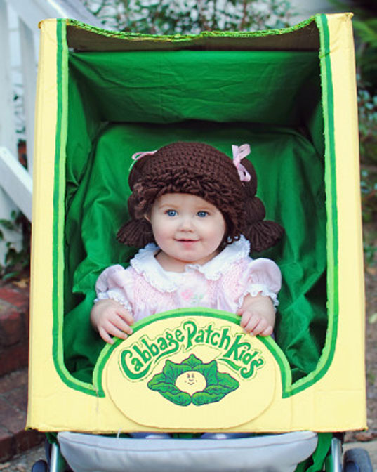 Cabbage Patch Kids costume idea