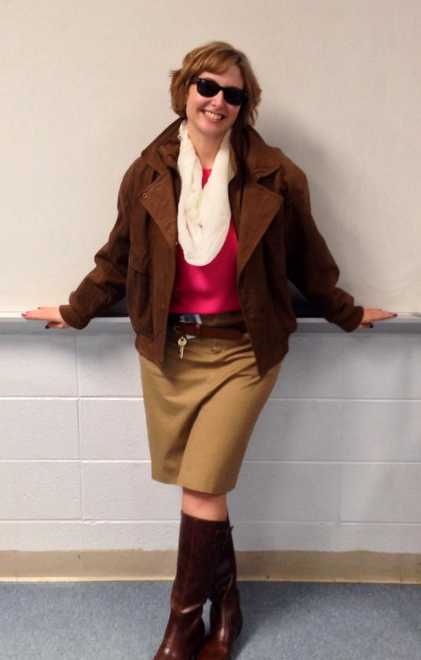 Check out this great Claire costume!