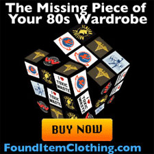 80s retro T-shirts and more at Found Item Clothing
