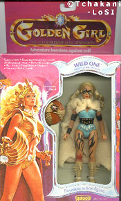 Wild One Golden Girl doll