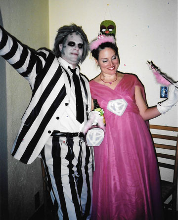 There you go one of the most classic u002780s movie characters ever for your Halloween costume! Now go put on a little Day-O do a dance around the dining room ...  sc 1 st  Like Totally 80s & Beetlejuice Halloween Costume | Like Totally 80s