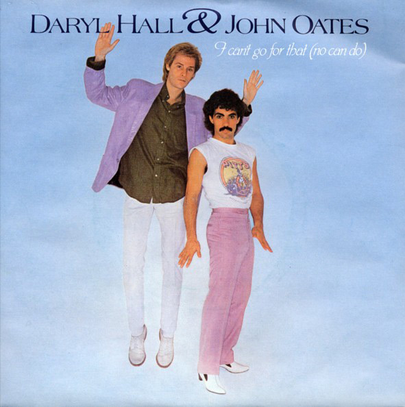 "Daryl Hall and John Oates - ""I Can't Go for That"""
