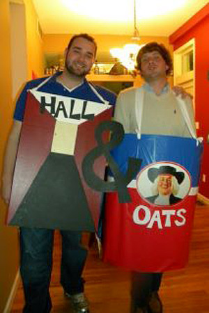 Hall and Oates Literal Costume Idea