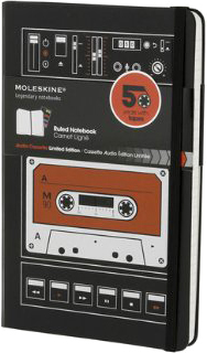 Moleskine Audio Cassette Notebook