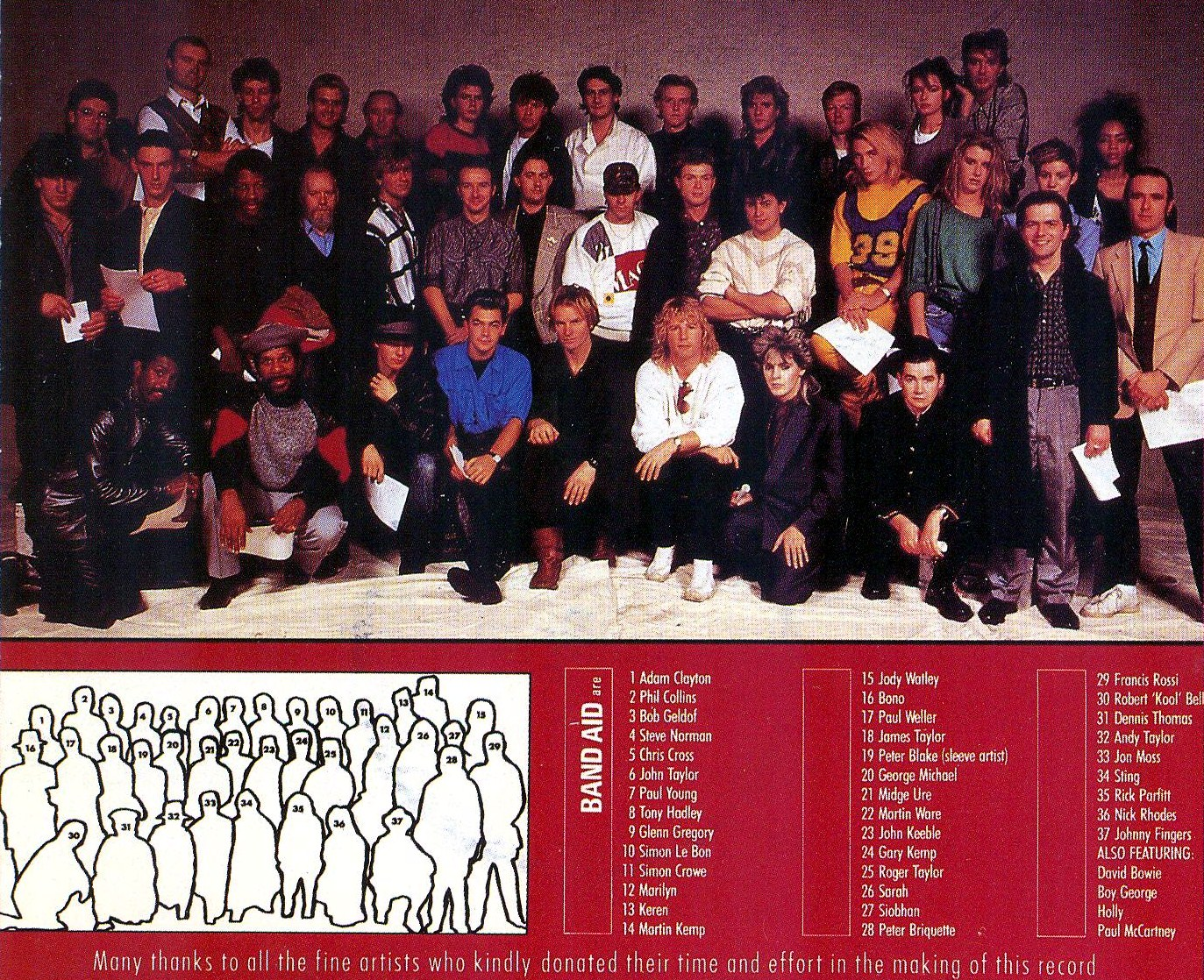 "In Defense of 1984's ""Do They Know It's Christmas?"" by Band-Aid ..."