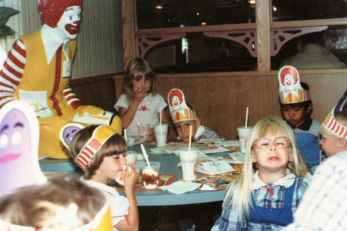 80s Birthday Party At McDonalds