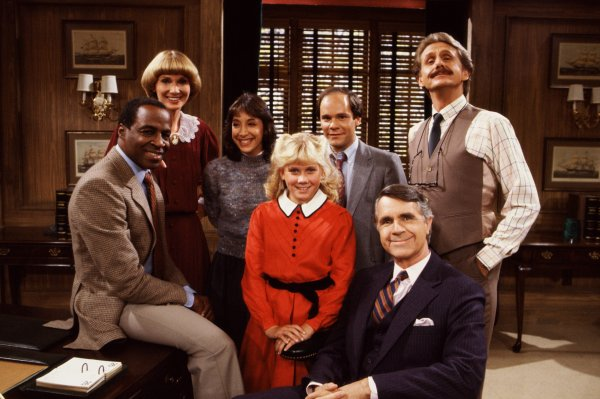 80s TV - Benson Cast Picture