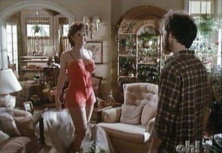 Sexy neighbor Joan (Ann Jillian) tries to make a move on Jack