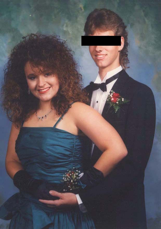 The 80s Prom Dress Like Totally 80s