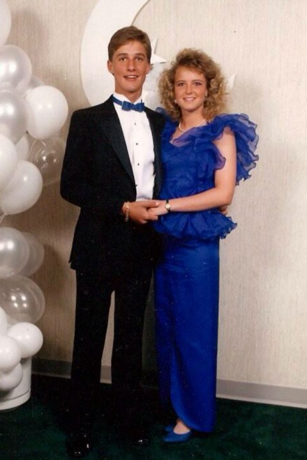 Matthew McConaughey at his 80s prom