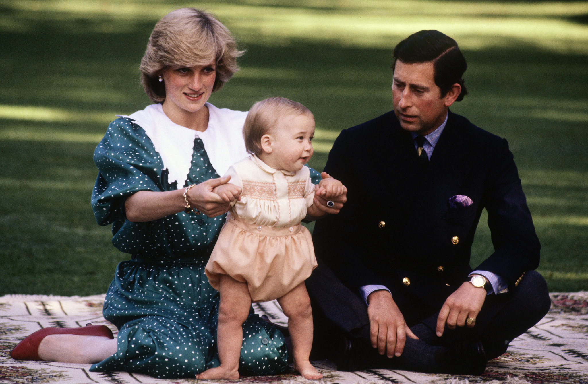 The Royal Family: Princess Diana, Prince Charles, and young Prince William