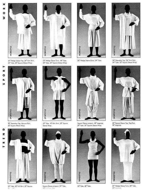 Units clothing chart