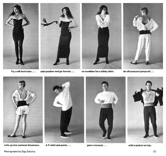 80s Fashion Trend: One Size Fits All – UNITS | Like Totally 80s