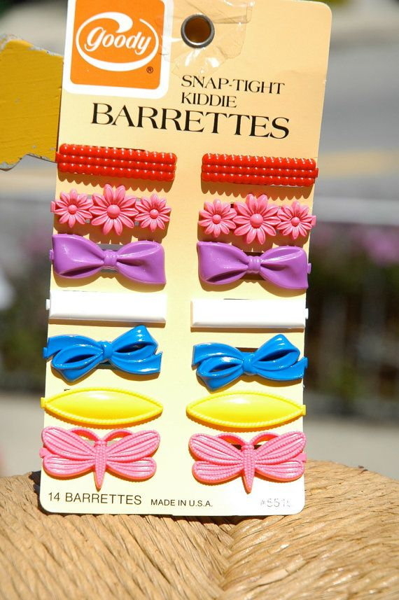 Goody Snap-Tight Barrettes