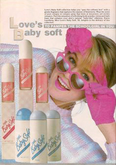 80s Love's Baby Soft Ad