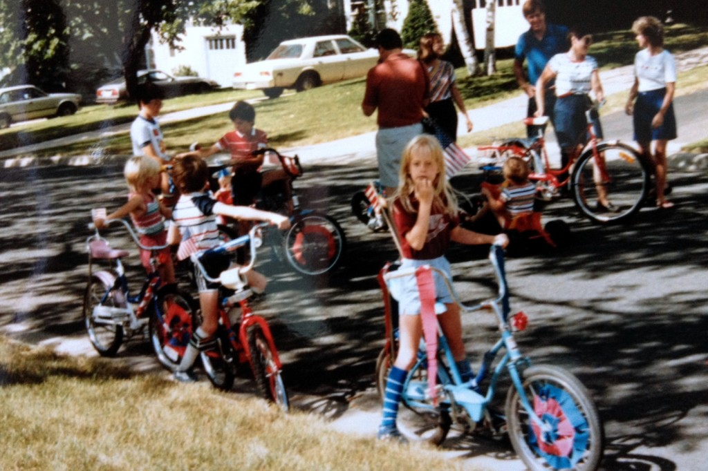 July 4th bike parade
