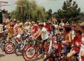 The July 4th Bike Parade