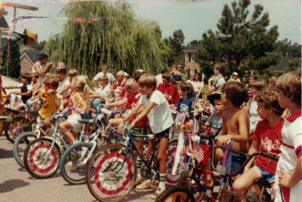 July 4th bike parade in the 80s