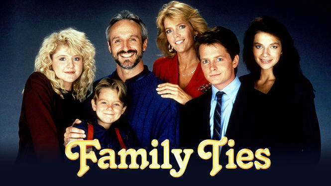 Family Ties starring Back to the Future's Michael J. Fox