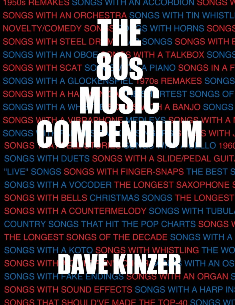 Cover of The 80s Music Compendium by Dave Kinzer