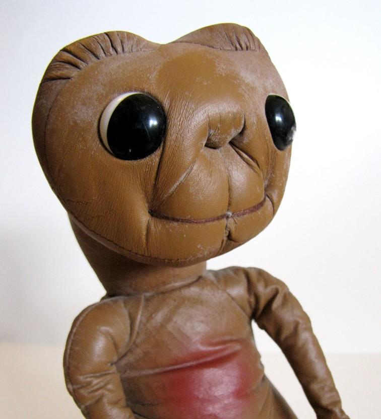 Plush E.T. doll