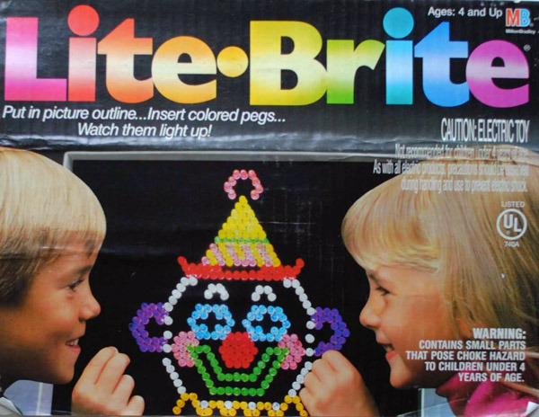 lite brite toy from the 70s