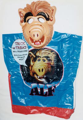 Alf 80s Halloween costume with mask