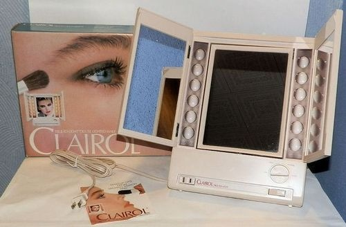 Clairol Illuminated Makeup Mirror with Side Mirrors
