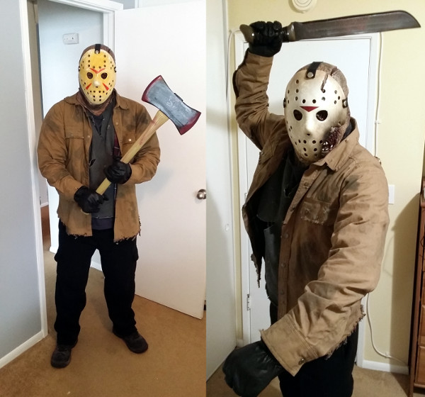 Halloween Costume Jason Friday 13th.Friday The 13th 1980 Like Totally 80s