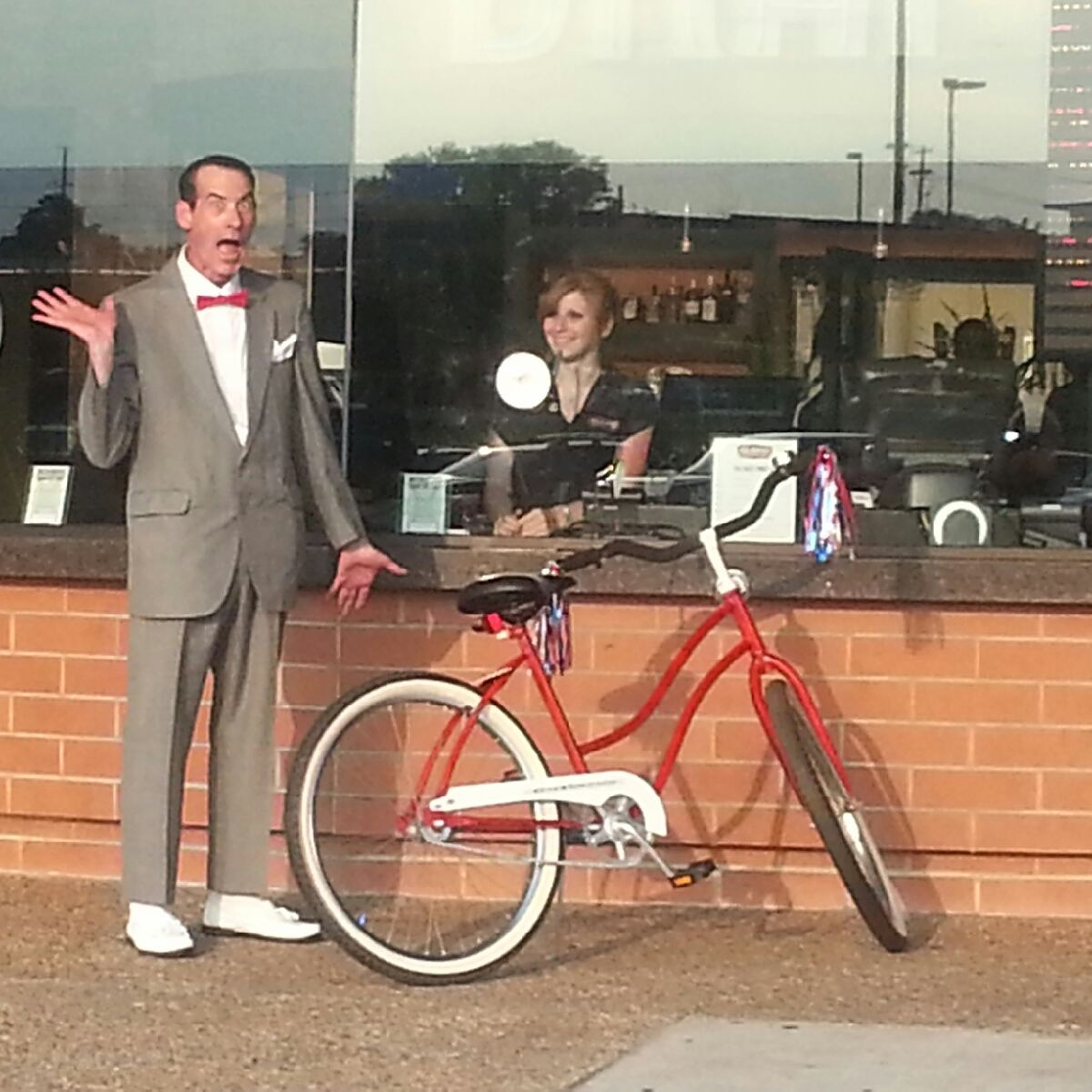 Pee Wee Herman Costume Idea