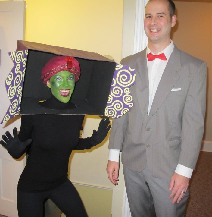 Pee Wee Herman and Jambi the Genie Costume Idea